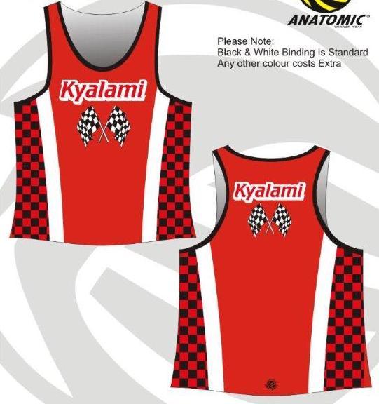Kyalami Running Vest