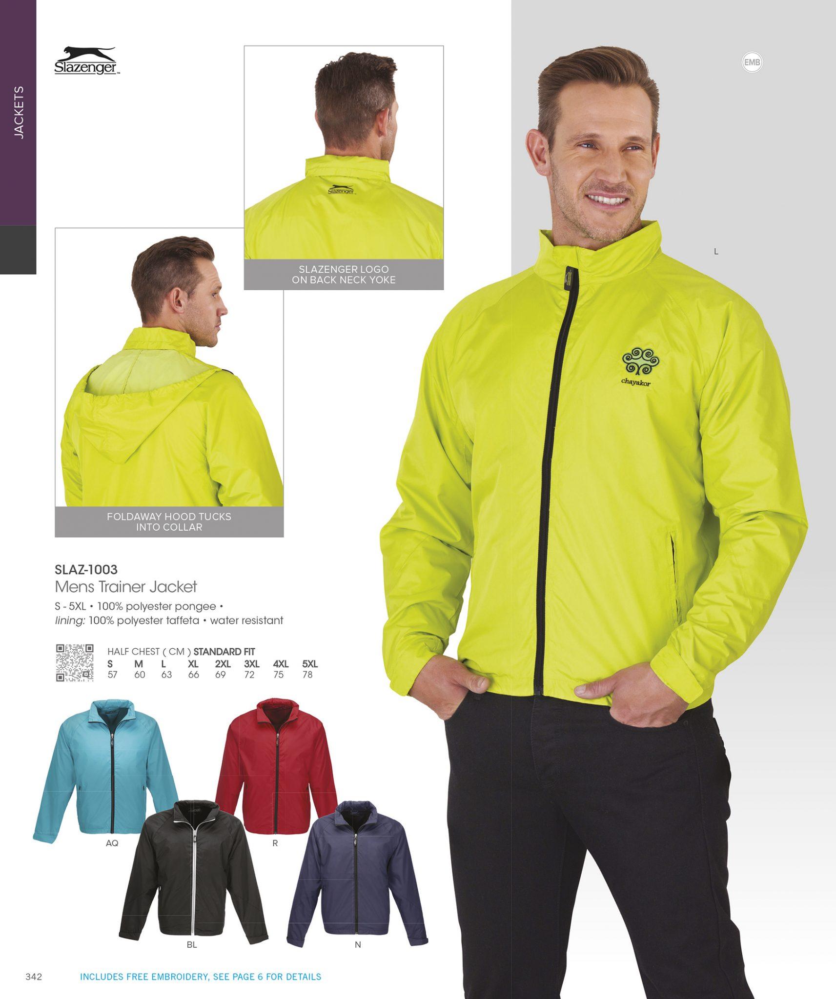 KRC Slazenger Jacket