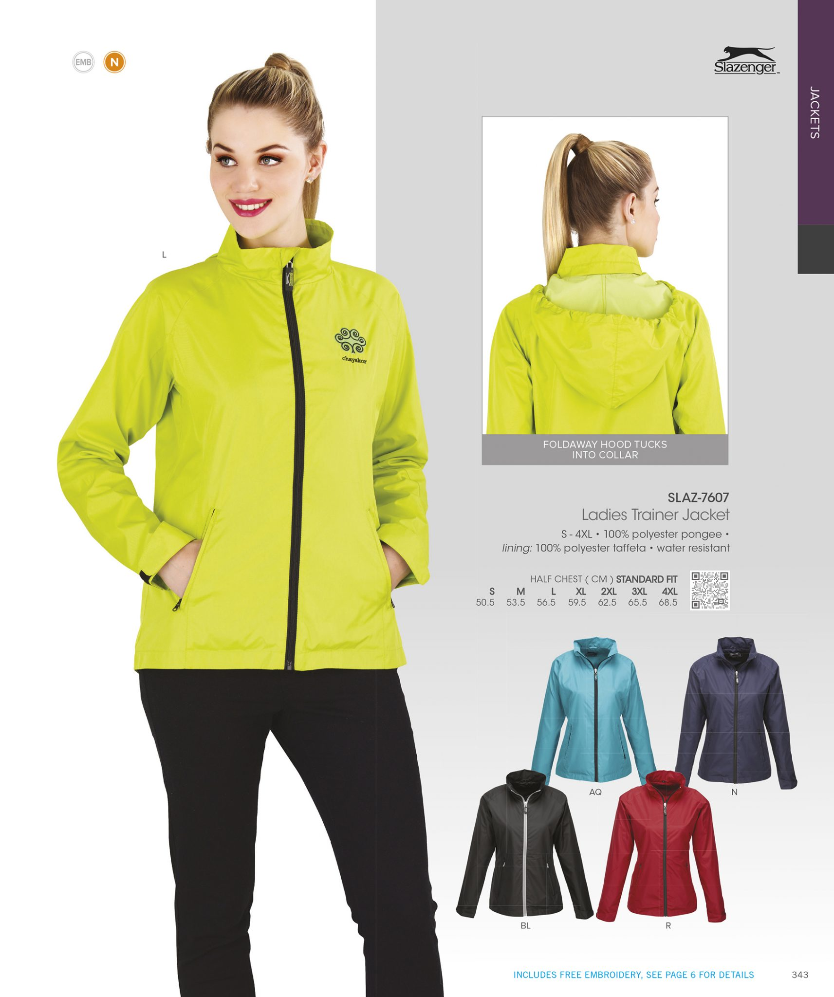 KRC Ladies Slazenger Jacket