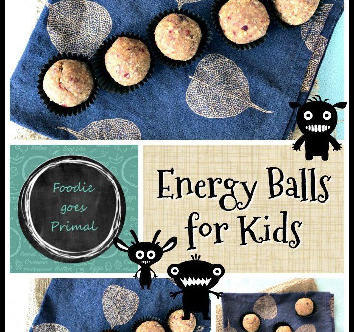 Energy Balls for Healthy Kids