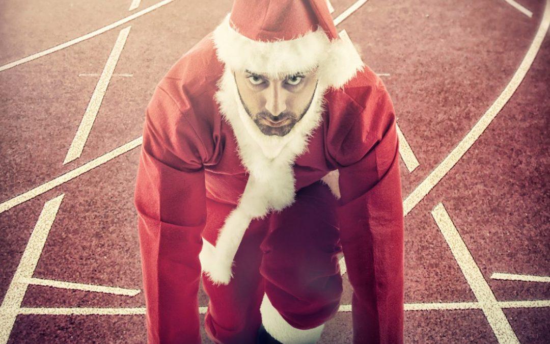 Running in the holiday season